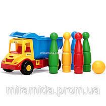 Грузовик Multi Truck с кеглями