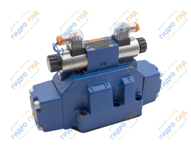 Гидрораспределитель с электромагнитным управлением ВЕХ 32 (WEН32, РЕН32) Двухмагнитный