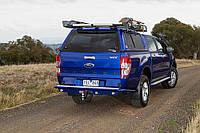 Пластиковая кабина  (Кунг) для FORD Ranger Double Cab 2011+ с гладкой поверхностью