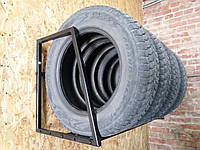 Полка для хранения сменных колес настенная разборная, фото 1