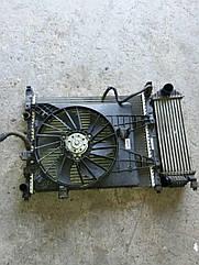 Б/у диффузор Корпус вентилятора Renault Kangoo Рено Кенго Канго Кангу 2008-2015 г.г.