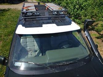 Спойлер переднего стекла козырек тюнинг Jeep Grand Cherokee ZJ