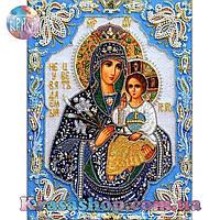 Алмазная вышивка 34х24 икона Неувядаемый цвет