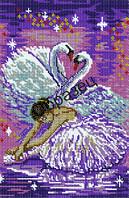 """Схема для вышивки бисером  """"Балерина"""""""