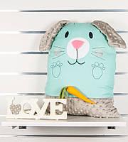Детская подушка-игрушка Зайка, фото 1