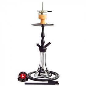 Кальян AMY Deluxe 027 Lady on fire высота 65 см на 1 персону черный