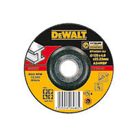 Круг шлифовальный по металлу Dewalt 125х6.0х22.2мм