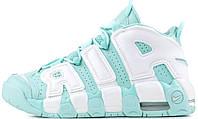Кросівки жіночі, obuwie damskie Nike Air More Uptempo Island Green Release Date.