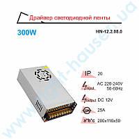 Драйвер светодиодный RIGHT HAUSEN 300W 12V 25A HN-122080