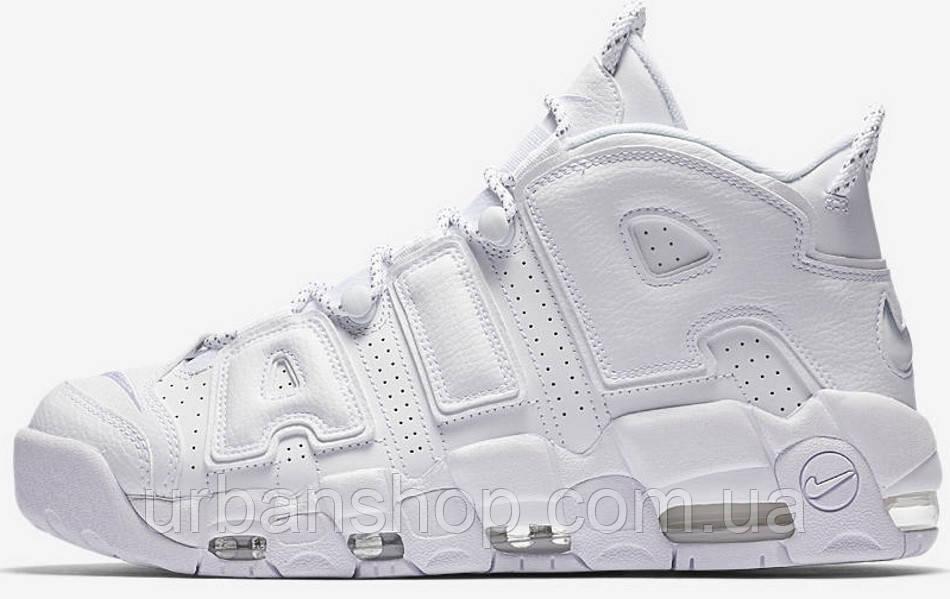 Кросівки жіночі, obuwie damskie Nike Air More Uptempo White