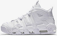 Кросівки жіночі, obuwie damskie Nike Air More Uptempo White, фото 1