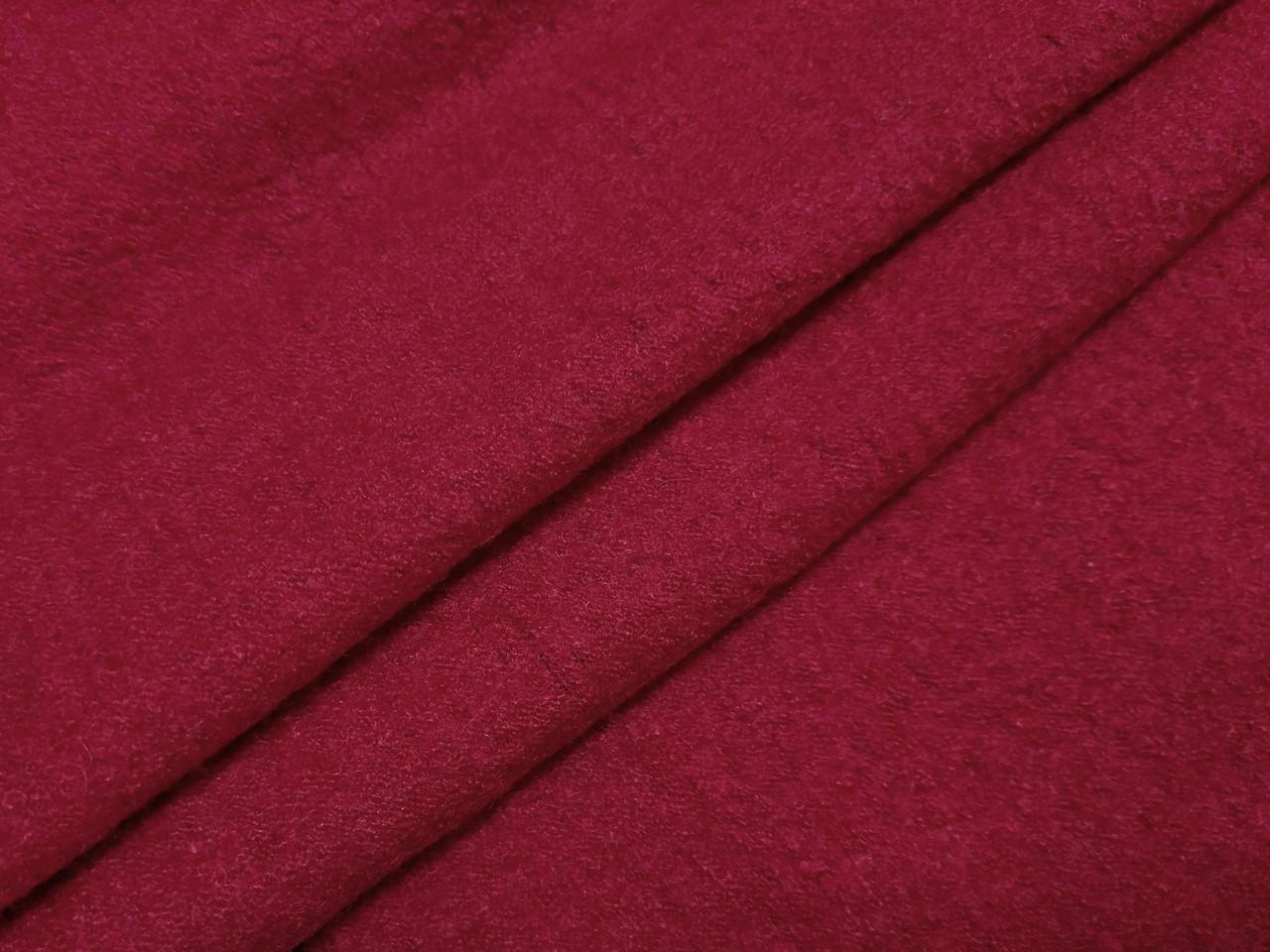 Шерсть варенка (лоден), красный