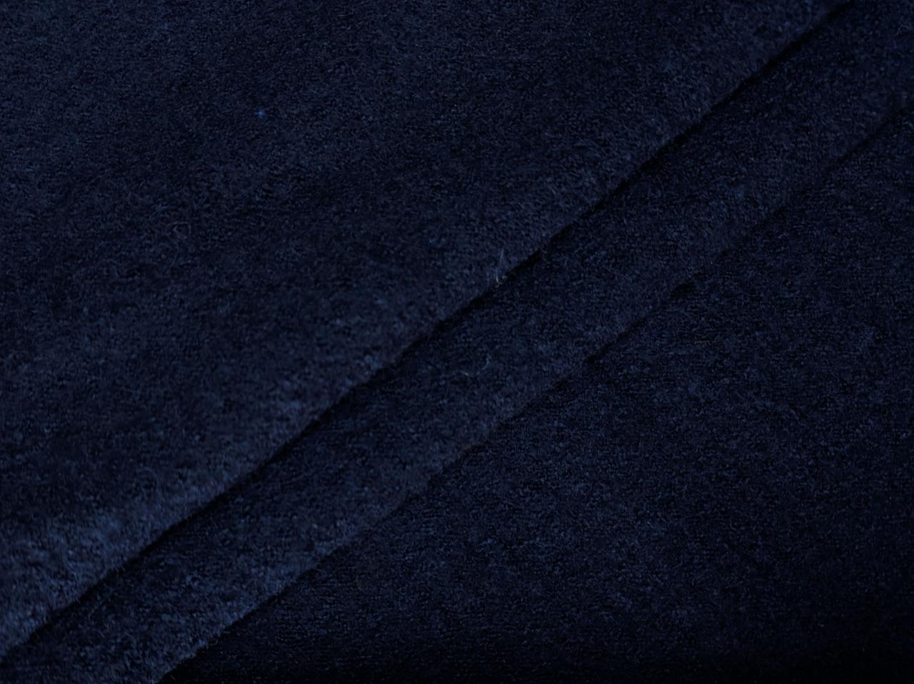 Шерсть варенка (лоден), темно-синий