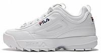 "Чоловічі кросівки, obuwie męskie Fila Disruptor II ""White""., фото 1"