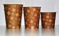 Бумажные одноразовые стаканы 185 мл-уп.50 шт