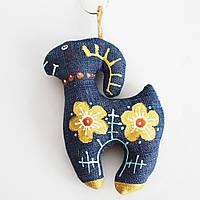 Козочка с цветочками. Украинский сувенир
