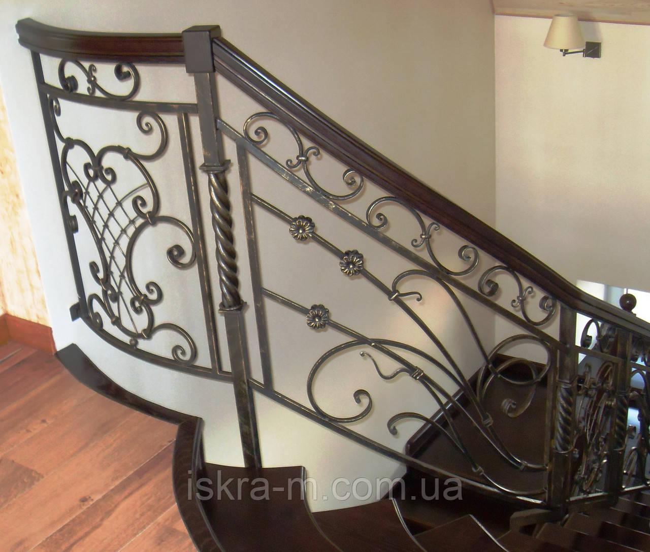 Лестничное ограждение для лестницы