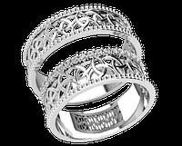 Кольца парные,обручальные Плетение 20051