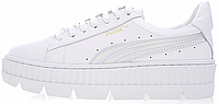 Кросівки жіночі, obuwie damskie пума Puma Cleated Creeper Rihanna Fenty White