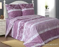 Комплект постельного белья семейный  БОРДО (навол.70*70)