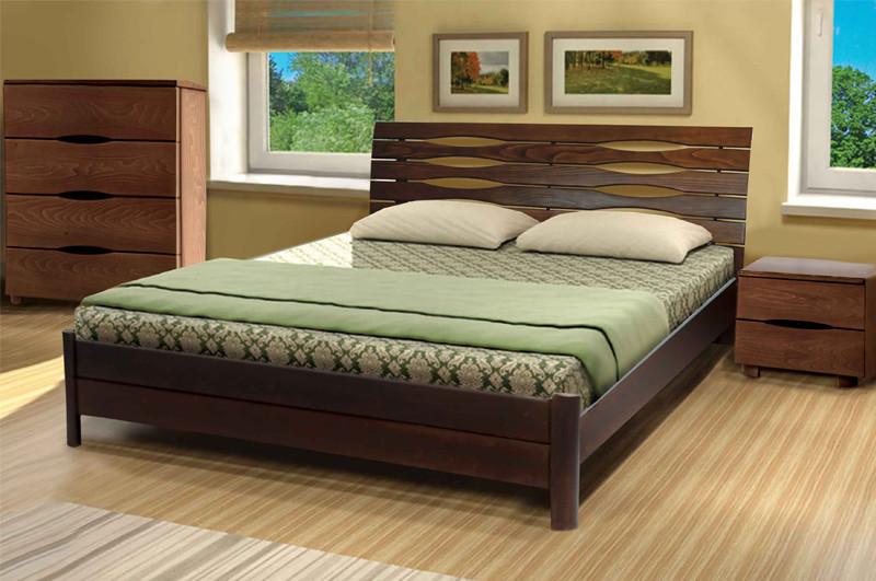 Кровать Мария (1,80 м.) (ассортимент цветов) (Бук)