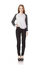 Утепленные лосины под джинс размеры до 56.  L054