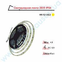 Лента светодиодная RIGHT HAUSEN IP54 SMD 2835 желтая HN-121022
