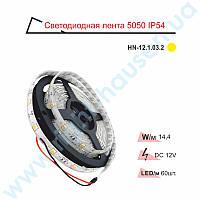 Лента светодиодная RIGHT HAUSEN IP54 SMD 5050 желтая HN-121032