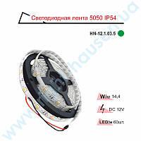 Лента светодиодная RIGHT HAUSEN IP54 SMD 5050 зеленая HN-121035