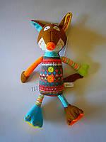 Мягкая игрушка-обнимашка Веселая Лисичка