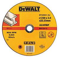 Круг отрезной по металлу Dewalt 230х3.0х22.2мм.