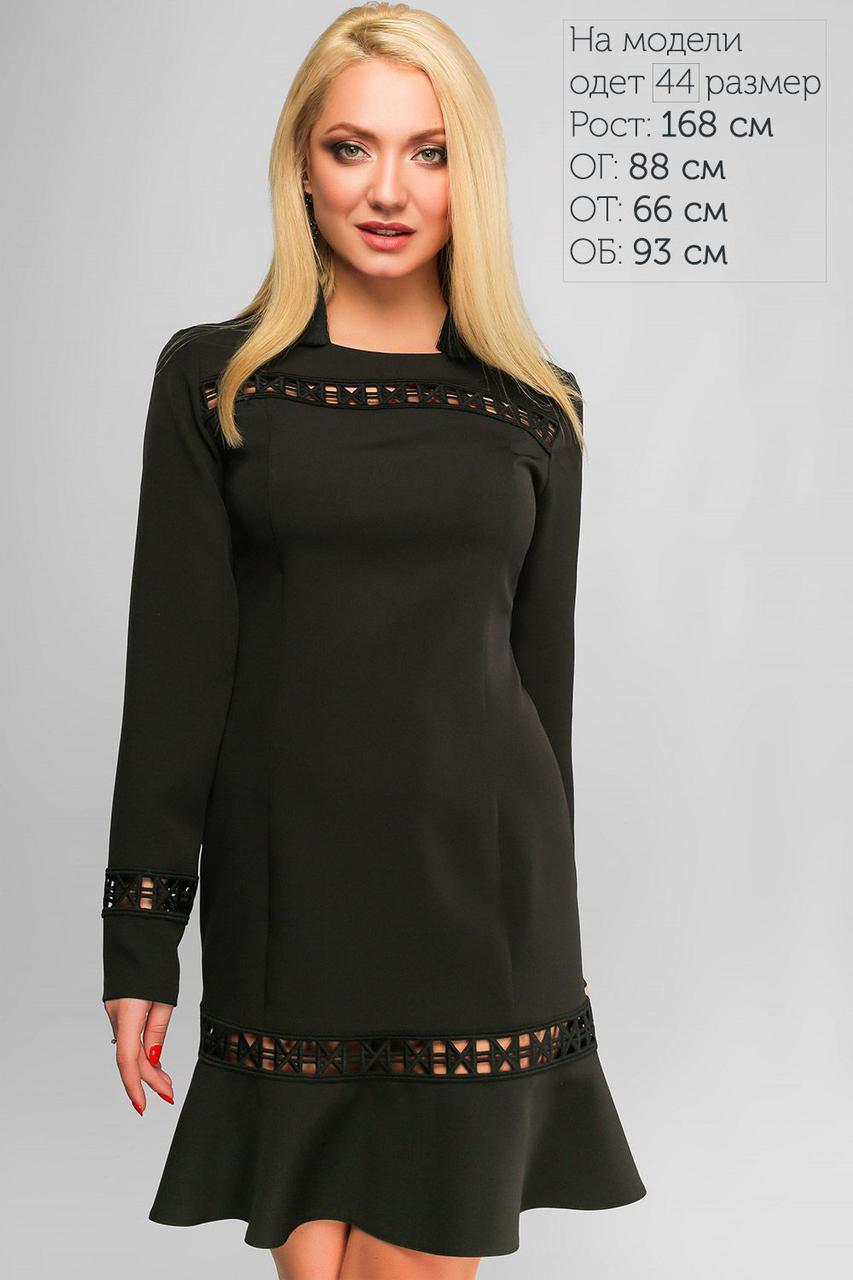bde27739800842 Платье Лия Черное 3127, цена 810 грн., купить в Кременчуге — Prom.ua ...