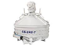 Бетоносмеситель планетарно-роторный СБ-242-7.Бетономешалка