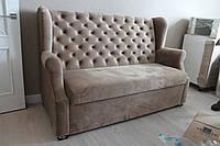 Кухонный диван с пуговицами на спинке (Капучино), фото 1