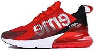 Кросівки жіночі, obuwie damskie найк, найкі, найки Nike Air Max 270 Supreme Red, obuwie do begania.