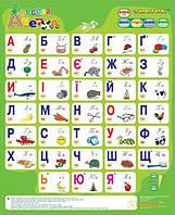 Звуковий електронний плакат 'Весела абетка' (українська мова) (5899)