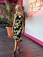 Платье коктейльное Лимоны № 268 мар., фото 1