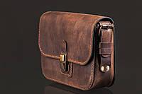 Женская сумка Lili с подкладкой   Винтажный Кофе, фото 1