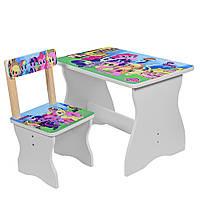 Детский столик и стул, My Little pony( 504-26)