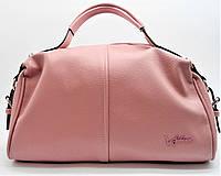 Сумочка женская из кожи розового цвета ТТC-009739, фото 1