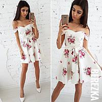 Женское коттоновое платье