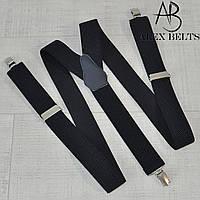 Подтяжка мужская взрослая в полоску (темно-синий) 35 мм-купить оптом в Одессе