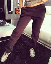 Женские стильные теплые штаны на флисе (2 цвета)