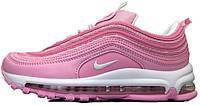 Кросівки  найк, найкі, найки Nike Air Max 97 Pink White.