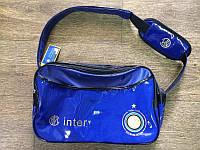 Сумка глянец большая клубная INTER, фото 1