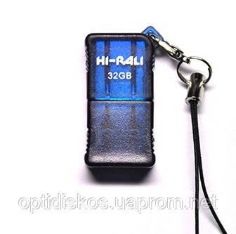 Флешка Hi-Rali 32GB Thor series, синя