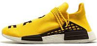 Чоловічі кросівки, obuwie męskie Adidas x Pharrell Williams Human Race NMD Yellow.