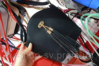 Женская стильная сумочка с бубончиком (4 цвета)