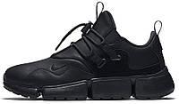 Чоловічі кросівки, obuwie męskie Nike Pocket Knife DM black/black, фото 1