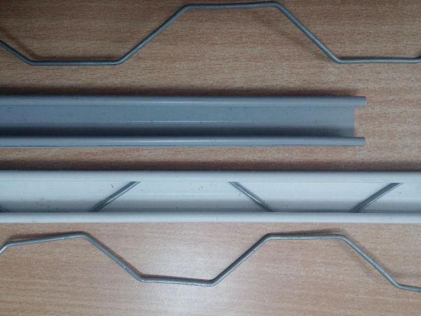 Профіль для кріплення плівки  - зигзаг 25мм*0,5 мм